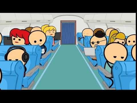 Cyanide & Happiness - Flight Safety
