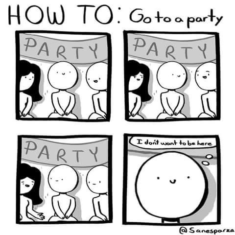 Ha! Can you relate? #introvert