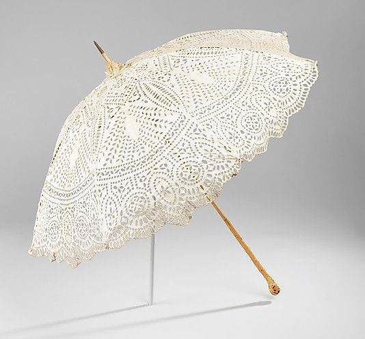Parasol, 1900–1905. The Metropolitan Museum of Art, New York. Brooklyn Museum Costume Collection at The Metropolitan Museum of Art, Gift of the Brooklyn Museum, 2009; Gift of Ellen Thomas, 1961 (2009.300.3220)