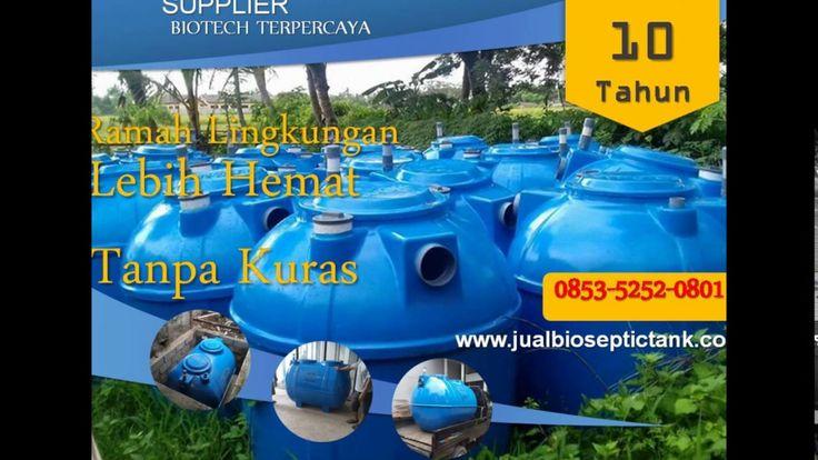 Pabrik Bio Septic Tank Bandung | Harga Septic Tank Biofil Murah | 0853-5...