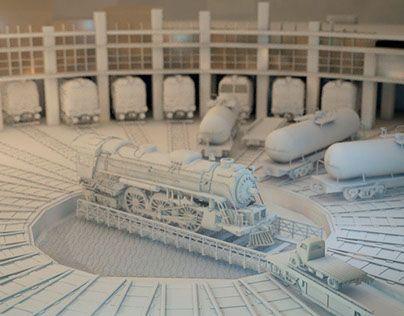 "Check out new work on my @Behance portfolio: ""Tren"" http://be.net/gallery/32461003/Tren"