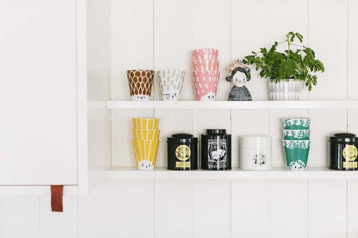 Kubek porcelanowy Friendly face | Opa&Company