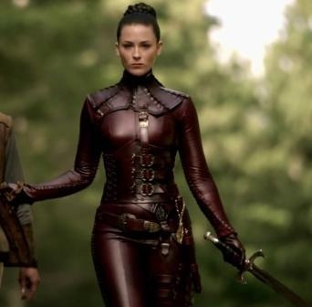 Mord'Sith costume from Legend of the Seeker. This one is on my to do list, I'd love to make a replica sometime.