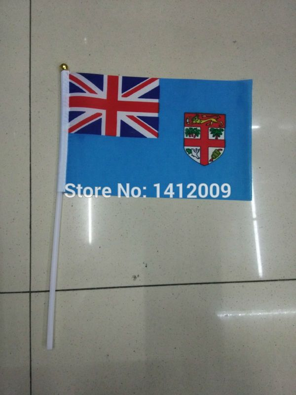 Cheap flag stake, Buy Quality flag glasses directly from China flag jerseys Suppliers: Free Shipping14*21cm  Fiji Islands   National Flag Office/Activity/parade/Festival/Home Decoration2016  New fashion