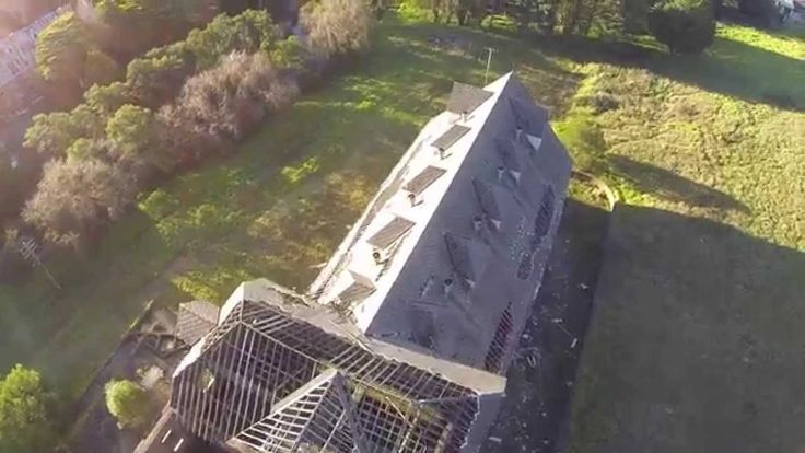 Drone crashes into building - DJI Phantom 2 drops out of sky