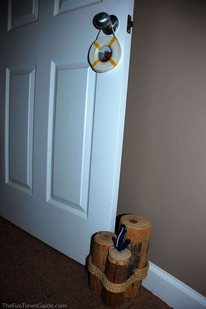 how to make a door stopper out of wood
