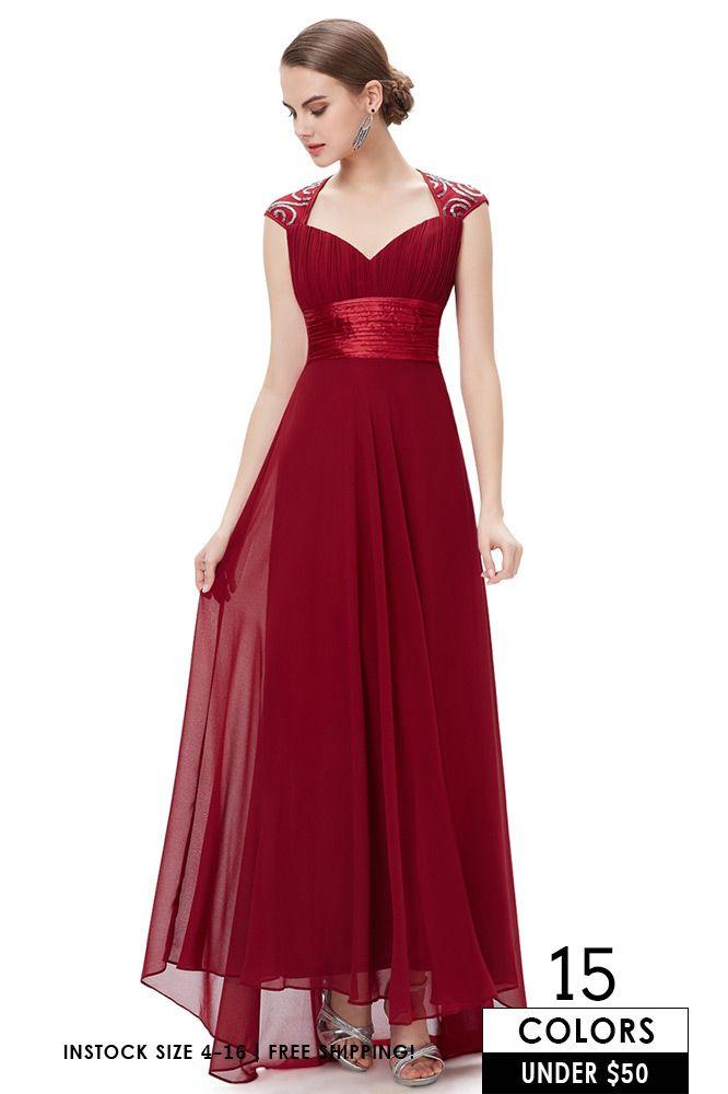A-line V-neck Chiffon Floor-length Bridesmaid Dress With Cap Sleeves ... 0a9a63554b48