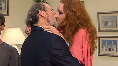 Beso con Enrique