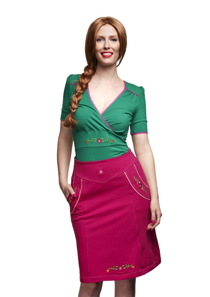 Skirt Tirol Pink