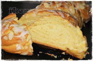 Marzipanzopf (2 Zöpfe) 250 g Milch 20 g frische Hefe 3 Min./37°/St.1 50 g Butter 50 g Zucker 1 Pr. Salz 1 Ei ...