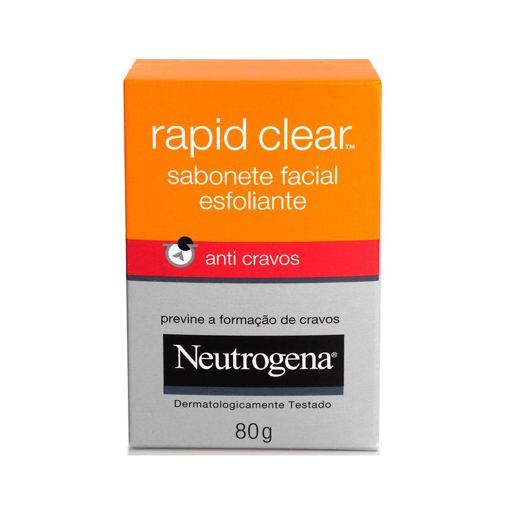 Sabonete Facial Esfoliante Anti Cravos - Neutrogena