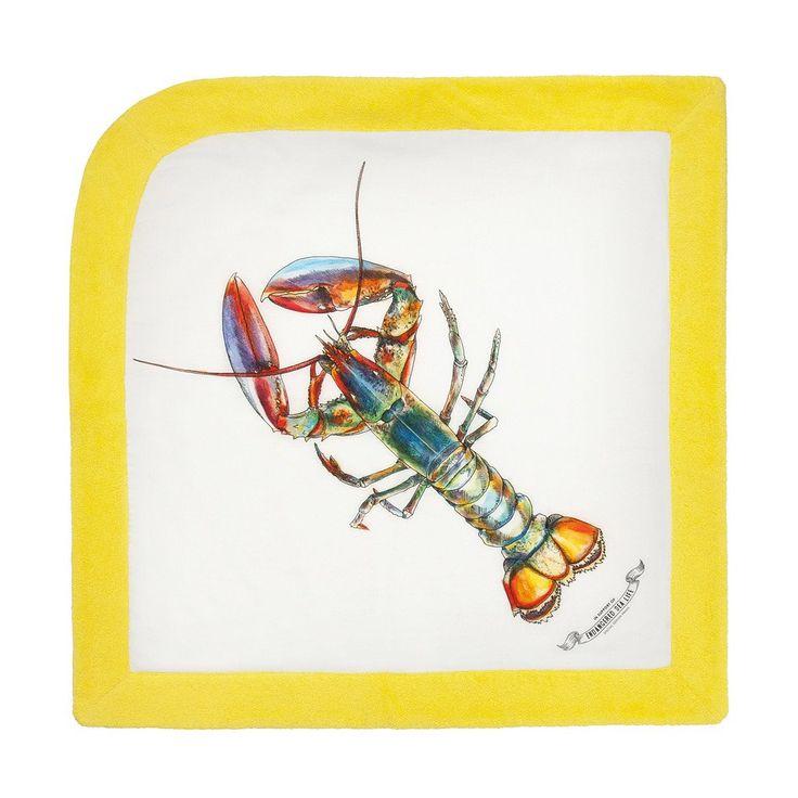 WWF Lobster   Baby Towel - Sun of a Beach