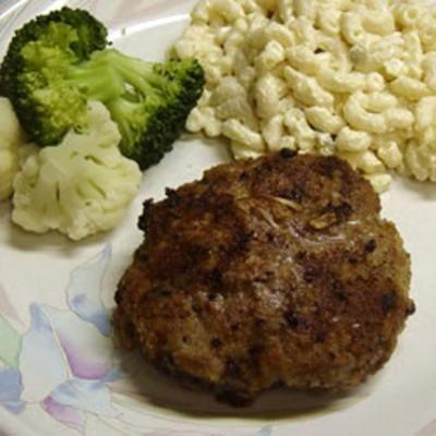 #recipe #food #cooking Breaded Hamburgers
