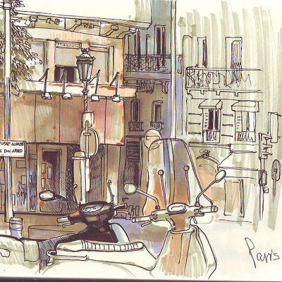 Городской скетчинг — не про точную перспективу и прямые линии. Мы будем учиться рисовать быстро, экспрессивно, и в то же время постигнем выразительные приемы, которые помогут передать характер города. Начнем с линейного рисунка, научимся видеть и передавать важные детали городского пространства, введем работу со штрихом, цветом и закончим большими городскими композициями с людьми.