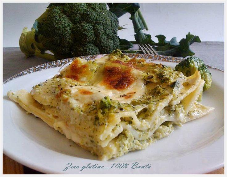 Ricetta del giorno..Lasagne con broccoli e mozzarella,un grande classico della cucina nazionale riletto in chiave salutista.Pochi e semplici ingredienti oc