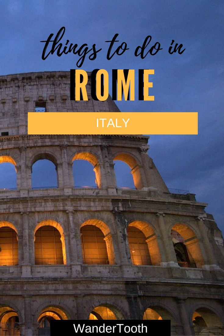 What to do in Rome: a city guides with a list of the things to do in Rome that you can't miss. Rome, Italy | Rome Travel Tips