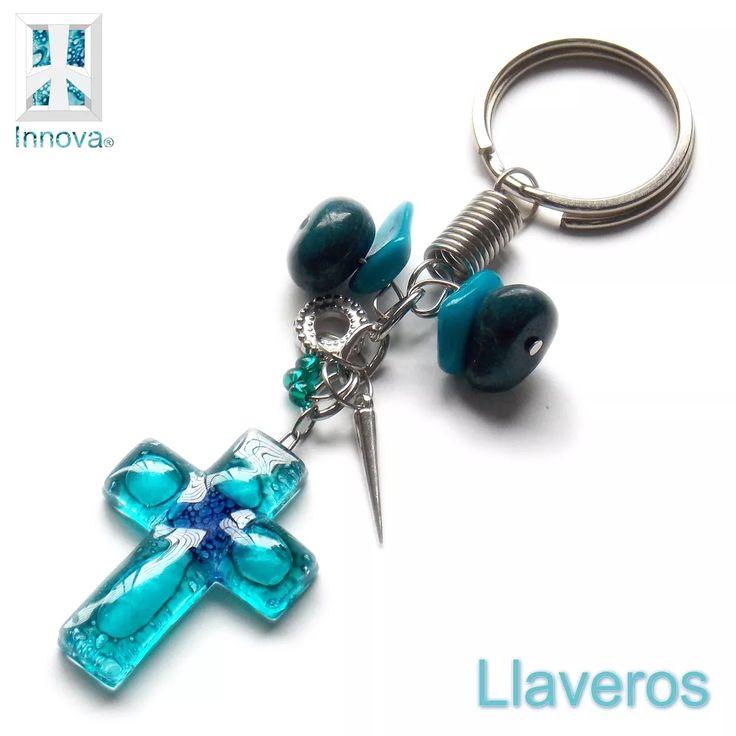souvenirs comunion bautismo llavero vitrofusion artesanal