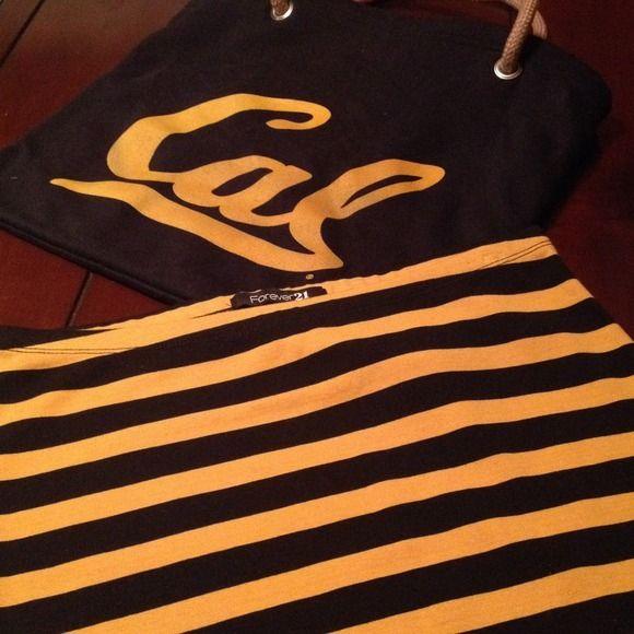 Striped SkirtForever 21Size LgNever Worn Striped SkirtForever 21Size LgNever Worn95% Cotton 5% Elastane Forever 21 Skirts