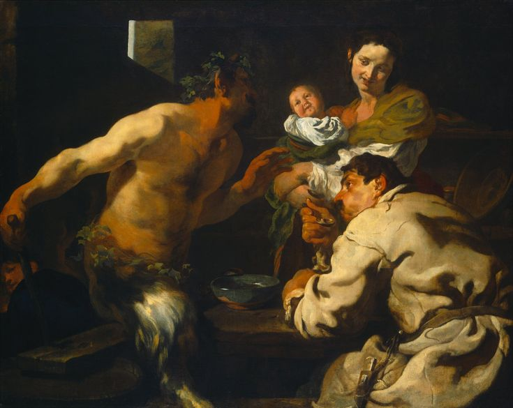 The Athenaeum - The Satyr and the Peasant (Johann Liss - )