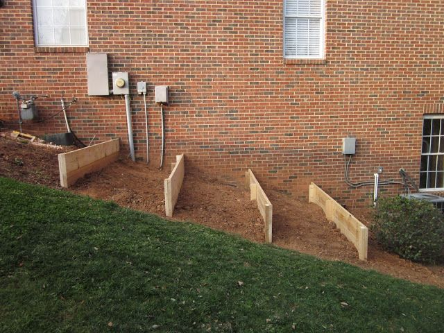 Raised Beds On A Slope Terraced Vegetable Garden Sloped