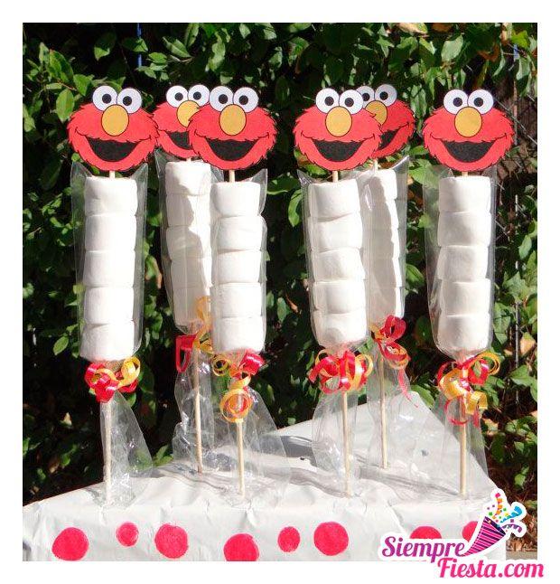 Ideas para fiesta de cumpleaños de Elmo de Plaza Sésamo. Encuentra todos los artículos para tu fiesta en nuestra tienda en línea: http://www.siemprefiesta.com/fiestas-infantiles/ninas/articulos-elmo.html?utm_source=Pinterest&utm_medium=Pin&utm_campaign=Elmo
