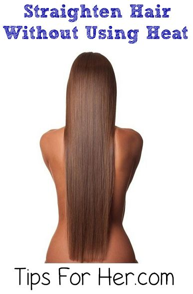 43 best No heat straighten hairstyles images on Pinterest ...
