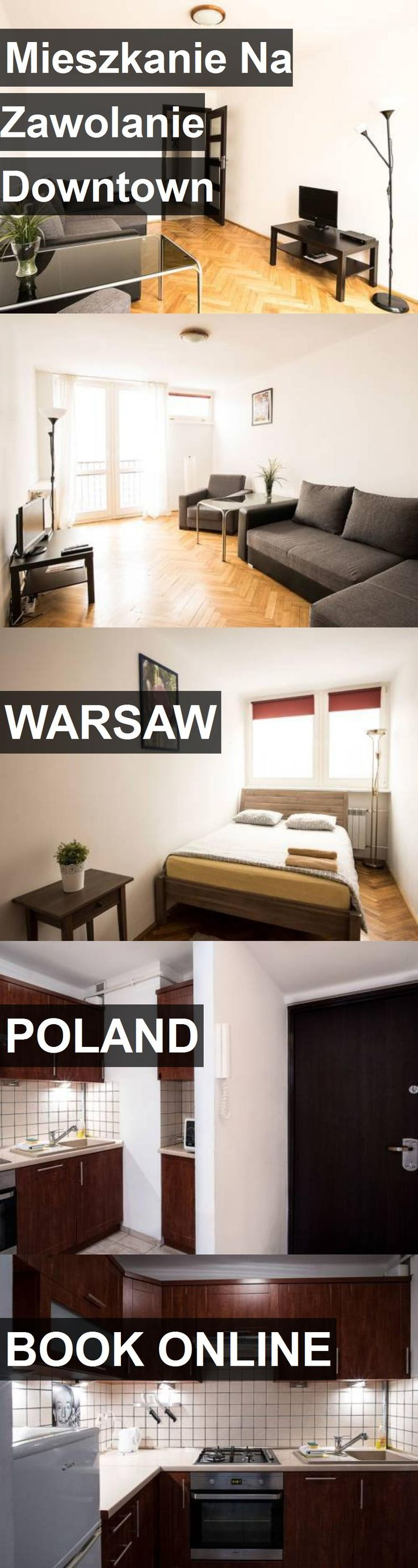 Hotel Mieszkanie Na Zawolanie Downtown in Warsaw, Poland. For more information, photos, reviews and best prices please follow the link. #Poland #Warsaw #travel #vacation #hotel