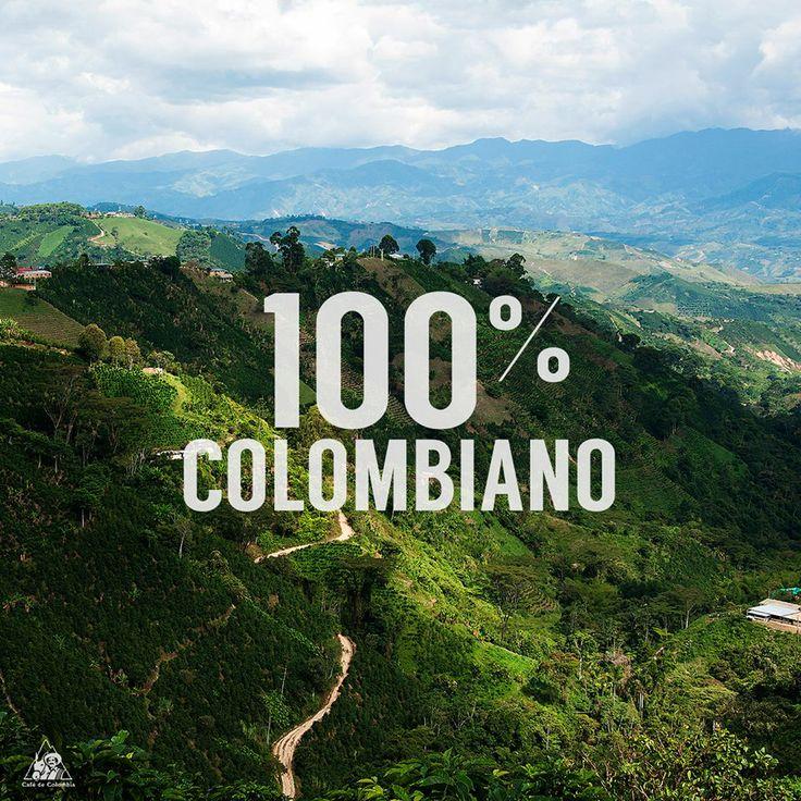 100% Cafe Colombiano. Juan Valdez.