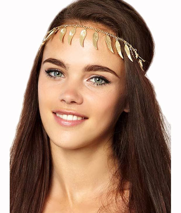 Style Fiesta Gold Wing Head Band
