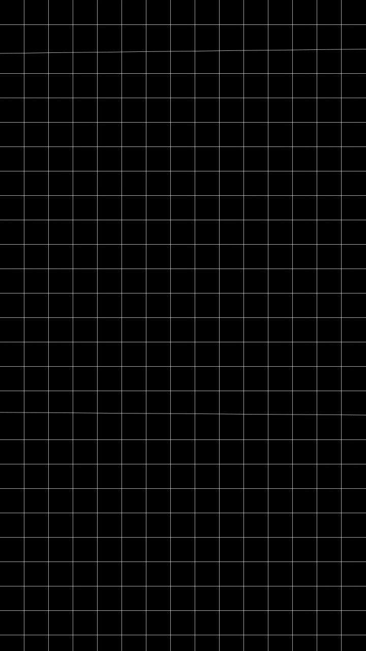 Aesthetic black grid wallpaper