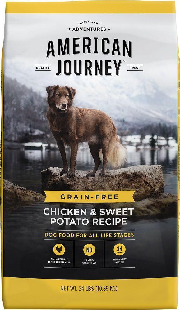 American Journey Chicken Sweet Potato Recipe Grain Free Dry Dog