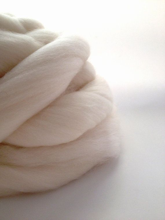 Cormo Combed Top 100g Undyed TONOFWOOL Tasmania 100 by msgusset, $16.00