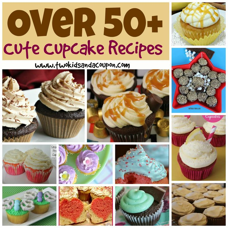 Wanna Bake? Over 50+ Cute Cupcakes Recipes