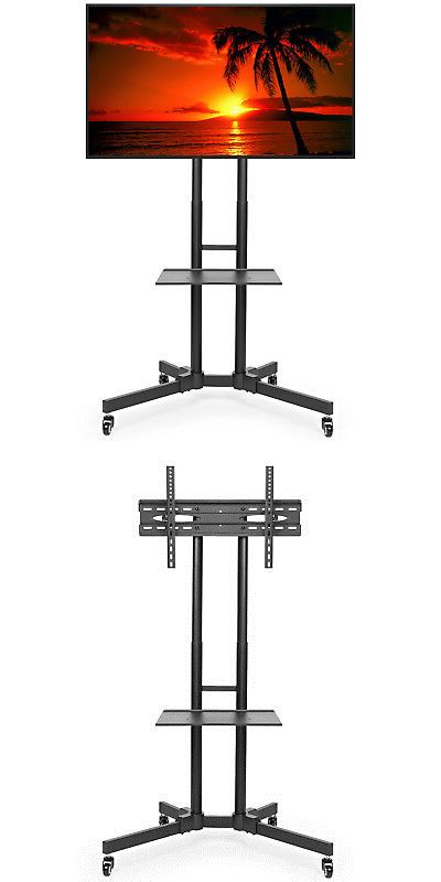 Entertainment Units Tv Stands 20488 Rolling Tv Stand Cart Mount For