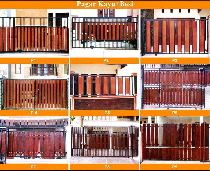 Contoh Model Desain Pintu Pagar Modern Terbaru | Rumah ...