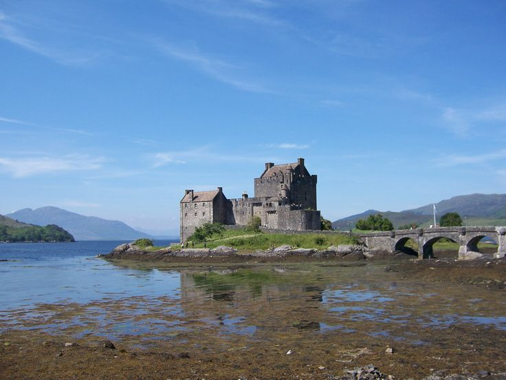 Eilan Donan Castle - Scotland, Kyle of Lochalsh. Said to be the most photographed Castle in Scotland. According to our guide there that really is a claim too hard to prove...