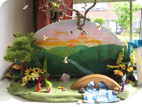 Een mooi voorbeeld van een zomer seizoentafel. De decoratiedoeken van Ostheimer zijn hiervoor erg geschikt. We hebben deze in veel verschillende kleuren in de webshop.