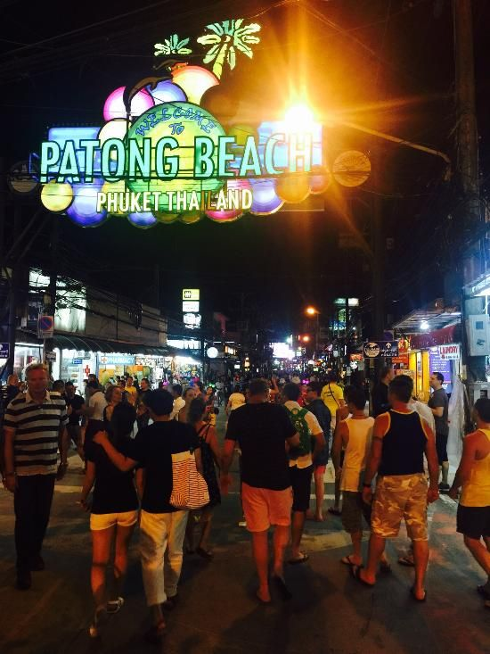 Bangla Road (bars, nightlife) - Patong, Thailand