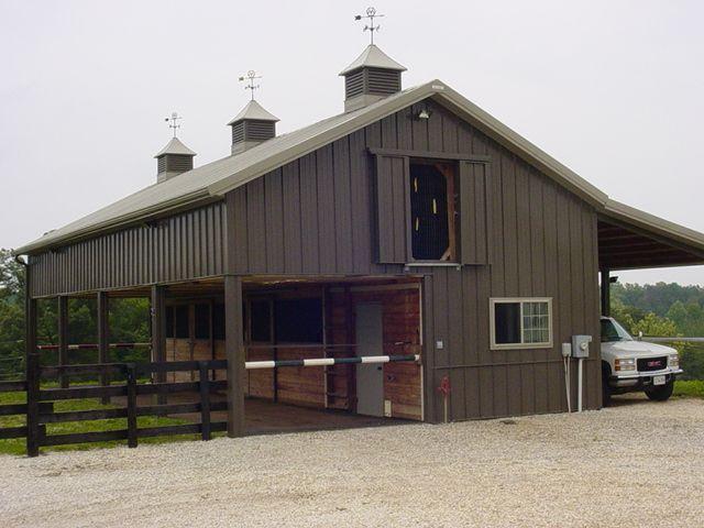 cute horse barn.