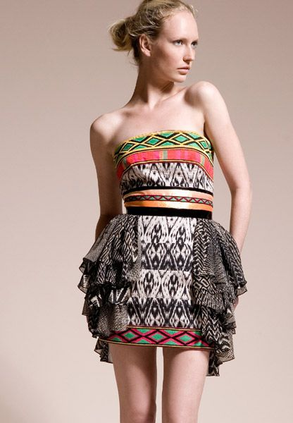 I love African print dresses