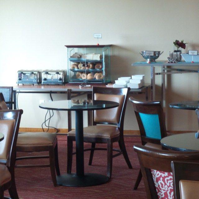 Executive Lounge at the Hilton Orlando Hotel, Florida, USA