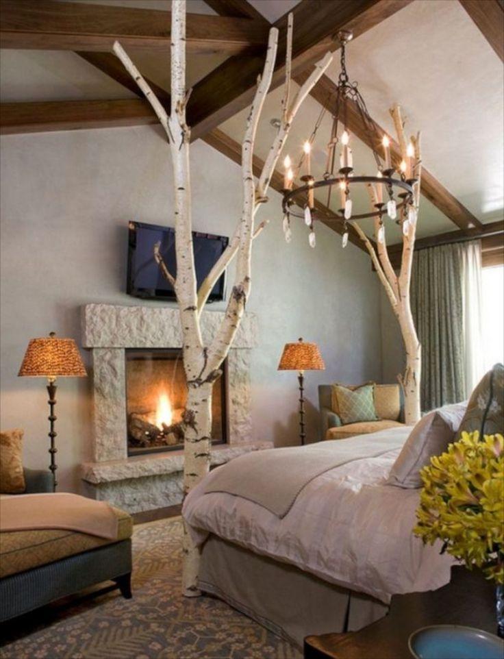 die besten 25 birkenstamm deko ideen auf pinterest birkenstamm raumteiler selber bauen und. Black Bedroom Furniture Sets. Home Design Ideas