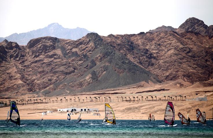Dahab - tym razem windsurfingowy