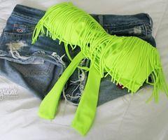 #neon #green #shorts #summer