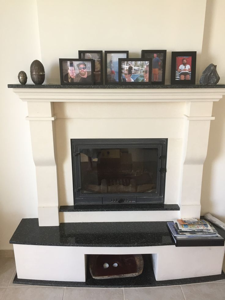 Fireplace nice for out of season.