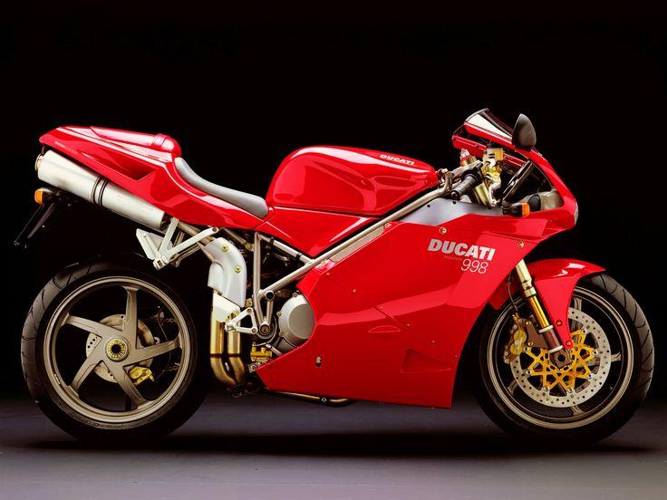 Ducati 998 Amazing Beautiful Red Background