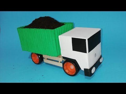 Como Un De Hacer YoutubeIdeas Camion Reciclando Carton 5R4LAj