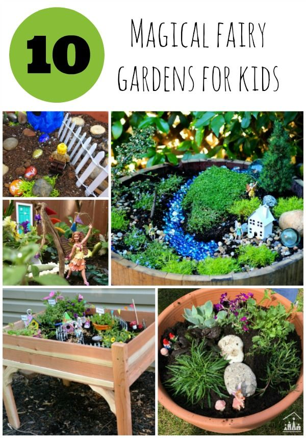 311 best gardening with kids images on pinterest activities for 10 magical fairy gardens for kids workwithnaturefo