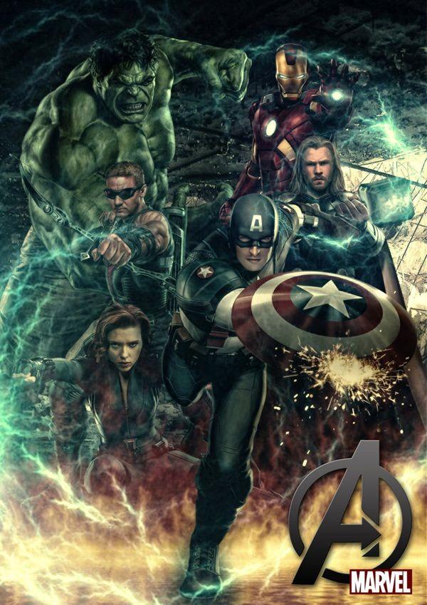 30 Cool & Creative Avengers Fan Art Posters