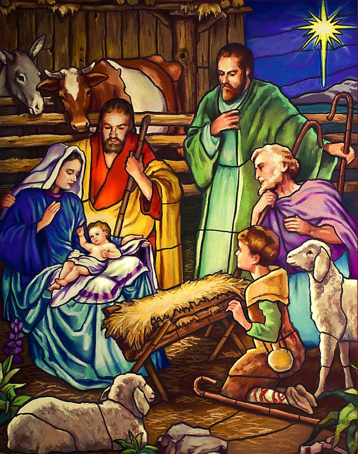 """""""Unto Us A Son Is Given"""" ~ Painting, Fine Art Print by Jean Hildebrandt"""